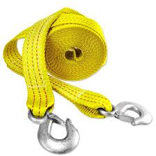 100 Tow Ropes For Trucks Presa 2 In X 20 Ft X 10000 Lbs HeavyDuty Strap With Hooks
