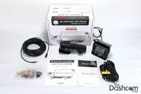 100 Dash Cameras For Trucks BlackVue DR650GW2CHTruck And R100 Rearview Kit In A Fleet Truck