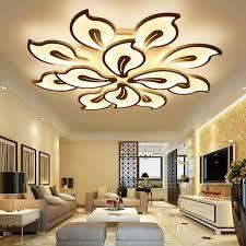 Modern Living Room Ceiling Fans Master Bedroom Fan 52 Inch