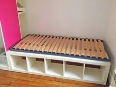 Ikea Platform Bed Twin by Ikea Kallax Queen Storage Bed Ikea Hackers Rv Reno