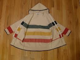 woolrich striped hudson bay blanket jacket basec vintage