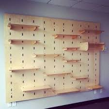 Adjustable Modular Shelving Display System For A Retail Store In Seattle WA Kerf Wall