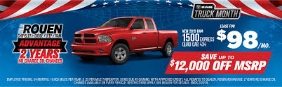 100 Dodge Truck Leases 2019 RAM 1500 Express Quad Cab 4x4 Lease Special Rouen Chrysler