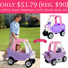 Only $51.79 (Regular $90) Little Tikes Princess Cozy Truck Ride-On ... Amazoncom Little Tikes Princess Cozy Truck Rideon Toys Games By Youtube R Us Australia Coupe Dino Canada Being Mvp Ride Rescue Is The Perfect Walmartcom Sport Dodge Trucks Pinkpurple Shopping Cart Free