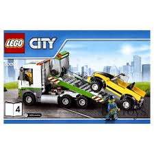 100 Lego City Tow Truck Truck And Car Split From 60097