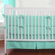 Box Pleat Bed Skirt by Solid Teal Crib Skirt Box Pleat Carousel Designs