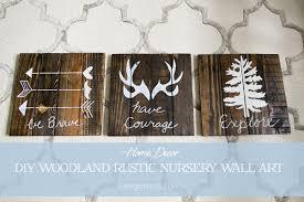 Diy Country Bedroom Decor Rustic Woodland Boy Nursery D On Log Ideas Take
