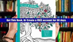 Ebook Keep Calm And Color Tranquil Trees Coloring Book Dover Design Books FULL Online