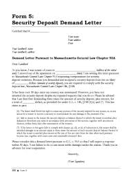 Demand Letter Sample Form Templates Fillable & Printable Samples