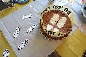 detektiv zum kindergeburtstag deko kuchen spiele