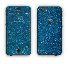 The Blue Sparkly Glitter Ultra Metallic Apple iPhone 6 Plus