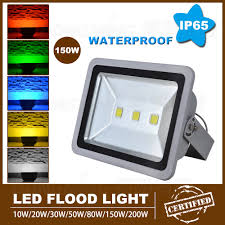 1pcs high lumen 10000lm led flood light bulbs ac85 265v led