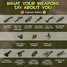 Tf2 Iron Curtain Skins by What Your Weapons Say About You Engineer Tf2