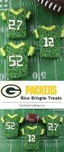 Rice Krispie Treats Halloween Theme by Green Bay Packers Rice Krispie Treats Two Sisters Crafting