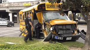 100 Truck Driving School Houston Teen Crashes Into Galena Park ISD School Bus At End Of