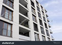 Modern Apartment Building Facade Minimalist