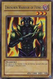 yugioh fiend deck 2008 unknown warrior of fiend kaiba starter decks einzelkarten yu gi oh
