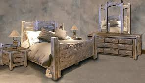 Rustic Style Furniture Western Bedroom Photo 1