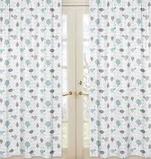 Sweet Jojo Chevron Curtains by Sweet Jojo Designs 84 Inch Window Treatment Curtain Panel Pair