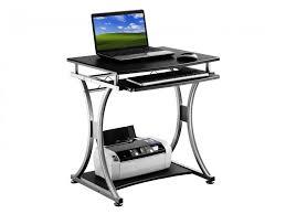 bureau informatique bureau informatique heleos avec plateau en mdf coulissant