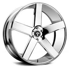 100 Wheels For Trucks 24 DUB S115 Baller Chrome 24x9 24x10 Wheel SET 24INCH RIMS