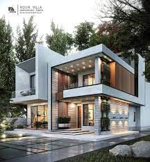 104 Home Architecture Follow Crc What Do U Think About This Noor Villa By Farhang Architect Duplex House Design Modern Villa Design Modern House Facades
