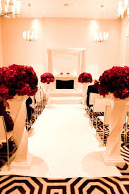 A Black White And Red Wedding Never Looked So Good
