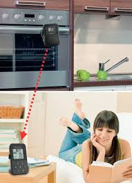 tfa dostmann küchen chef funk grill bratthermometer 14 1504 für ideal gebratenes fleisch