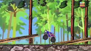 100 Dinosaur Monster Truck Monster Truck Dinosaur Land Videos For Children Video Dailymotion