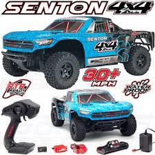 100 Rc Truck 4x4 Arrma 110 Scale Senton 4WD MEGA Short Course RC Blue