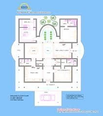 100 German Home Plans Villa Elevation And Floor Plan 4900 Sq Ft Kerala Home