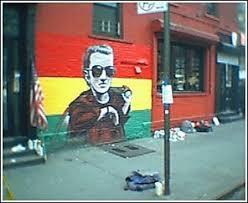 Joe Strummer Mural East Village by East Village Eastvillageny Twitter