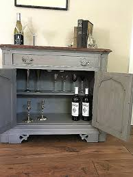 Office Entry Furniture Coffee Bar Elegant Small Gray Buffet And Sideboard Table Wine