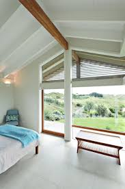 Bedroom Design In Te Horo Wetland House New Zealand