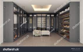 100 Modern Luxury Design Dressing Roomwalk Closet Interior Stock