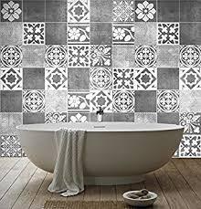 stickers carrelage salle de bain sticker carrelage déco deluxe pour salle de bain pack avec 56