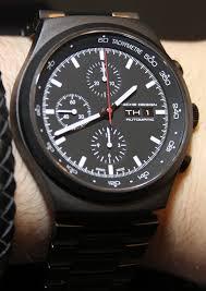 Porsche Design P 6540 Heritage Chronograph Watch Hands