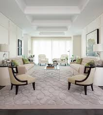 Transitional Living Room Furniture by Rug On Carpet With Transitional Living Room And White Arm Chairs