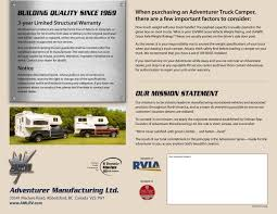 2007 ALP Adventurer Truck Campers Brochure | RV Literature One Guys Slidein Truck Camper Project Campers Bed Adventurer Eagle Cap Palomino Rv Manufacturer Of Quality Rvs Since 1968 With Slide Outs Luxury Model 1200 Pop Up Manufacturerspop Canada Cirrus 800 Wpaul The Air Force Guy Youtube Kamper City What Rv Akron Canton Cleveland 2014 Lance Manufacturing 850 Blade Center Mostly Complete List Off Road Trailer Manufacturers Toyota Truck Campers Business Soft Side In Best Resource