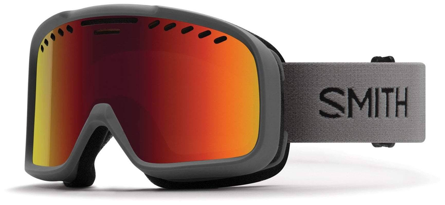 Smith Project Snow Goggles Charcoal Red Sol x Mirror