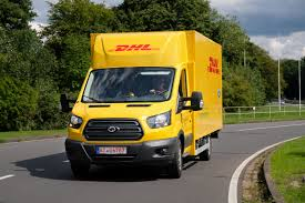 100 Ford Electric Truck Unveils Its New Electric Truck Made With DHL Electrek