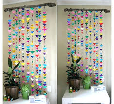 Wall Decor Paper Remarkable Decoration Unusual Ideas Design Inside With