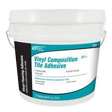 tec皰 vinyl composition tile adhesive 3 5 gallons at menards皰