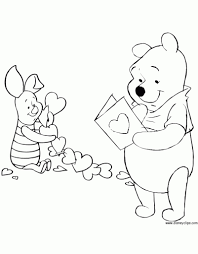 Valentines Day Coloring Pages Disney Book Inside Valentine