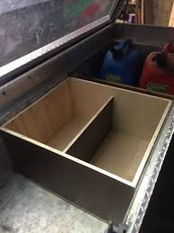 Truck Tool Box Organization. I Made A Wooden Box To Put All Of My ... Truck Tool Boxes Truxedo Tonneaumate Tonneau Cover Toolbox Viewing A Thread Swing Out Cpl Pictures Alinum Toolboxes Pickup Bed Box By Adrian Steel Check Out Our Truly Amazing Portable Allinone That Serves 5 Popular Pickup Accsories Brack Racks Underbody Inc Clamp Clamps Better Built Mounting Kit Kobalt Trailfx Autoaccsoriesgurucom How To Decorate Redesigns Your Home With More