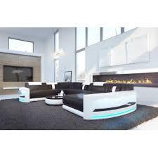 canapé design canapé atlantis ac éclairage led nativo mobilier design