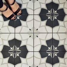 Home Depot Merola Penny Tile by Merola Tile Twenties Crest 7 3 4 In X 7 3 4 In Ceramic Floor And