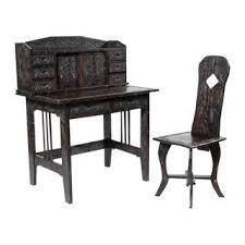 Black Writing Desk And Chair by Vintage U0026 Used Asian Writing Desks Chairish