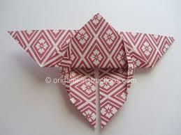 Origami Yoshizawa Butterfly Step 5