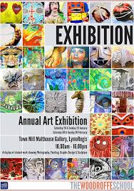 Every Year The Woodroffe School Has Opportunity To Show Off Its Art And Design Work In Malt House At Town Mill Lyme Regis